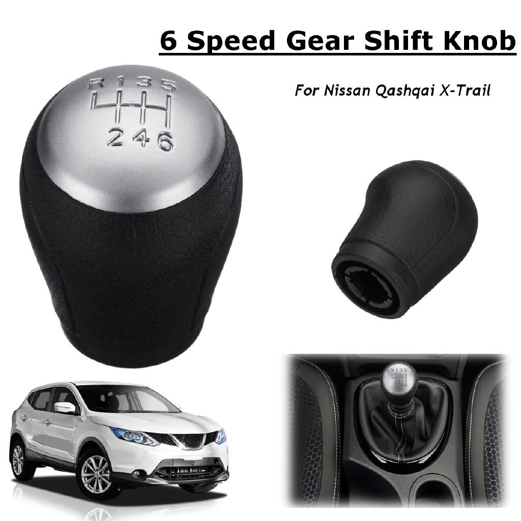 Steering, Seats & Gear Knobs - Speed Car Manual Gear Shift Knob Shifter Handball For Nissan Qashqai X-Trail MT - Car Replacement Parts