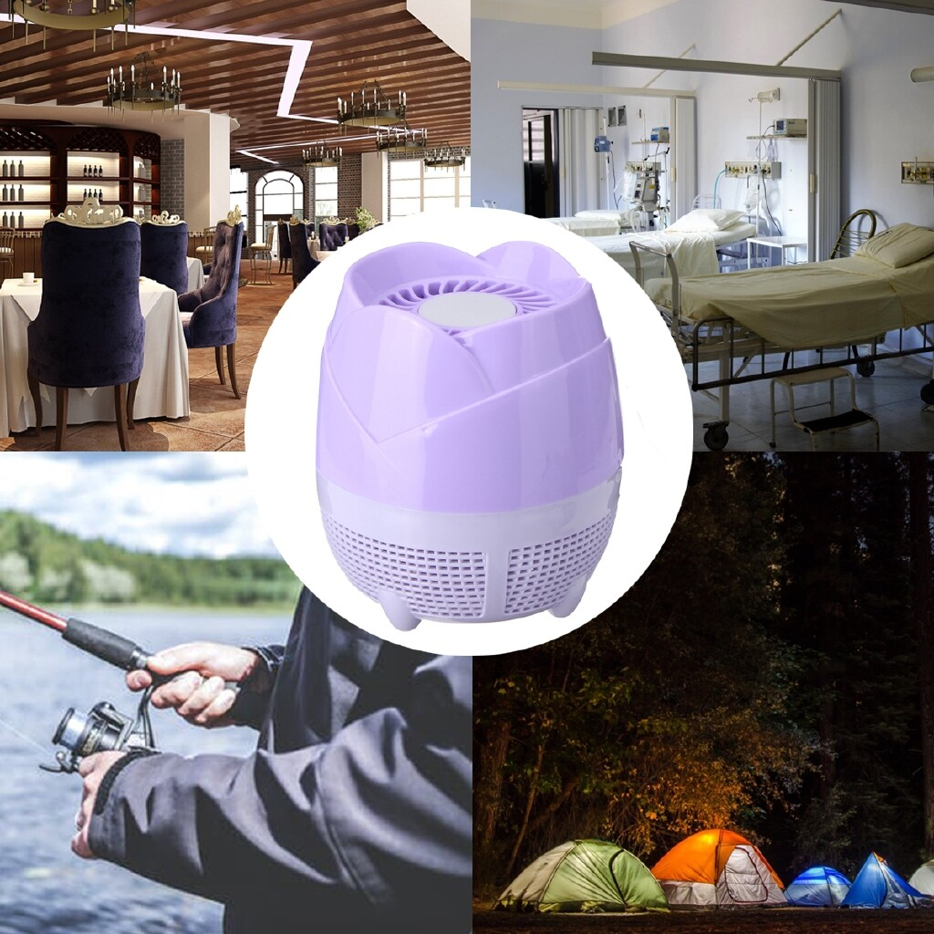 Specialty Lighting - Light Trap Lamp USB Mosquito Insect Killer Electric Zapper Fly Pest Control