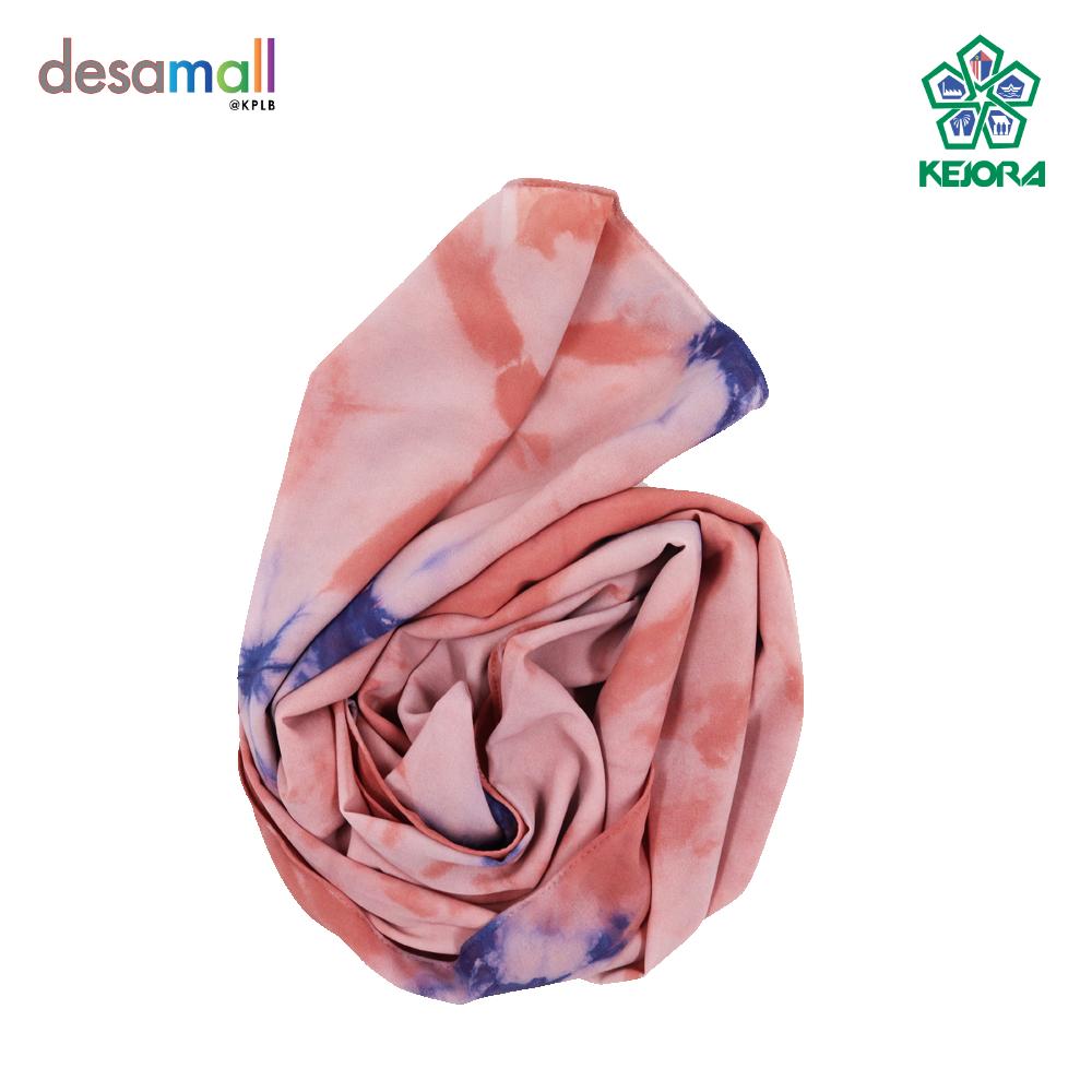 NORLI Shawl Batik Tie & Dye Base Color: Peach
