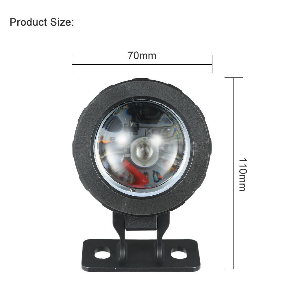 Lighting - AC85-265V 10W RGB LED Underwater Light Submersible Lamp with Remote Control 16 Colors Changing - Home & Living