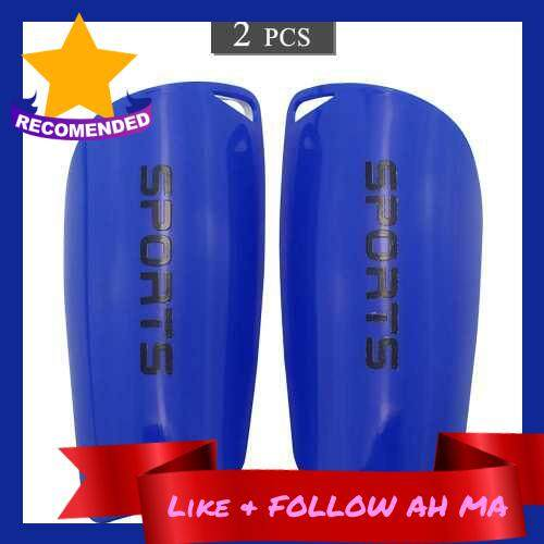 Best Selling 2 PCS Soccer Shin Guards Football Shin Protective Board Soccer Training Calf Protector Lightweight Football Leg Pad (Blue)