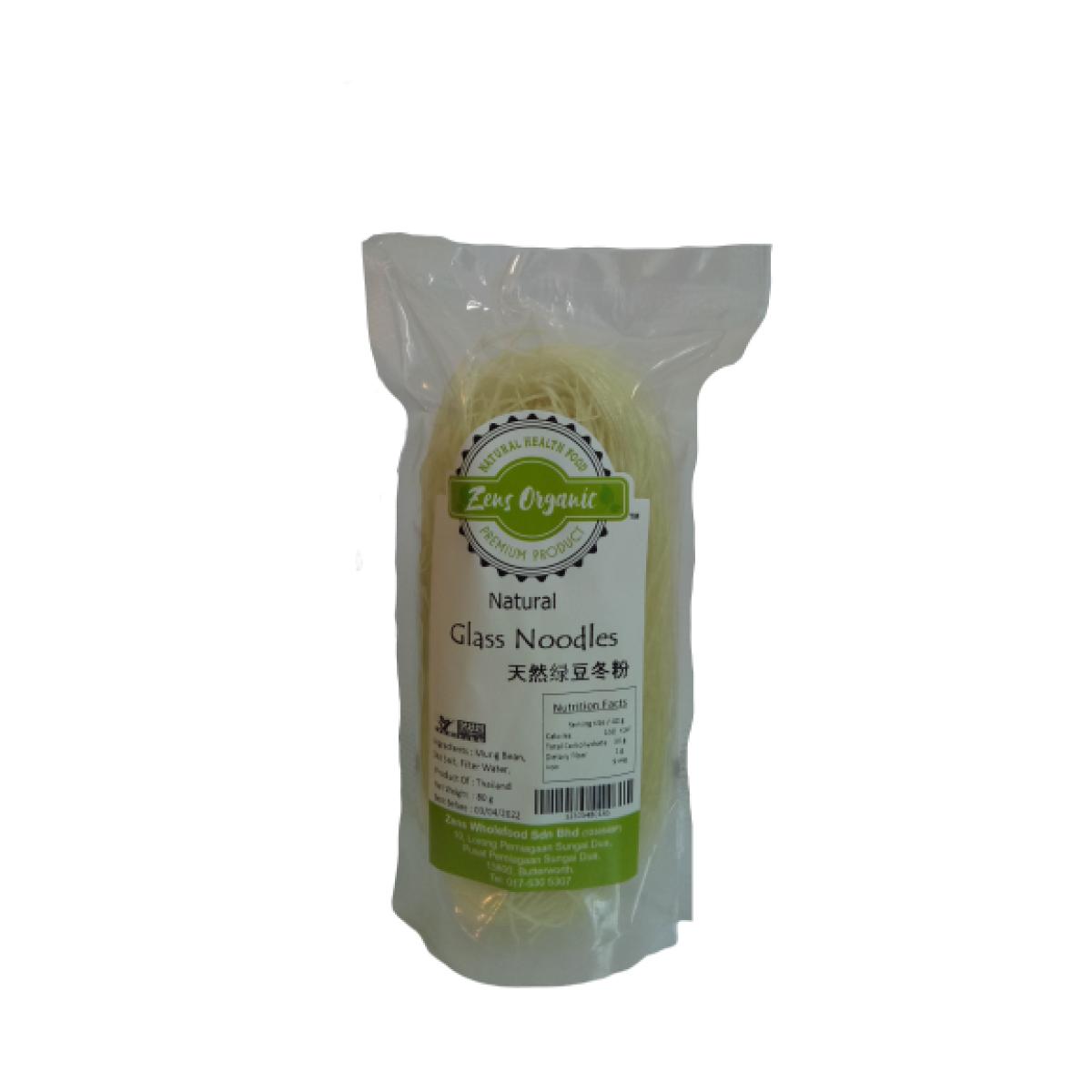 Zens Organic Natural Glass Noodles 80g