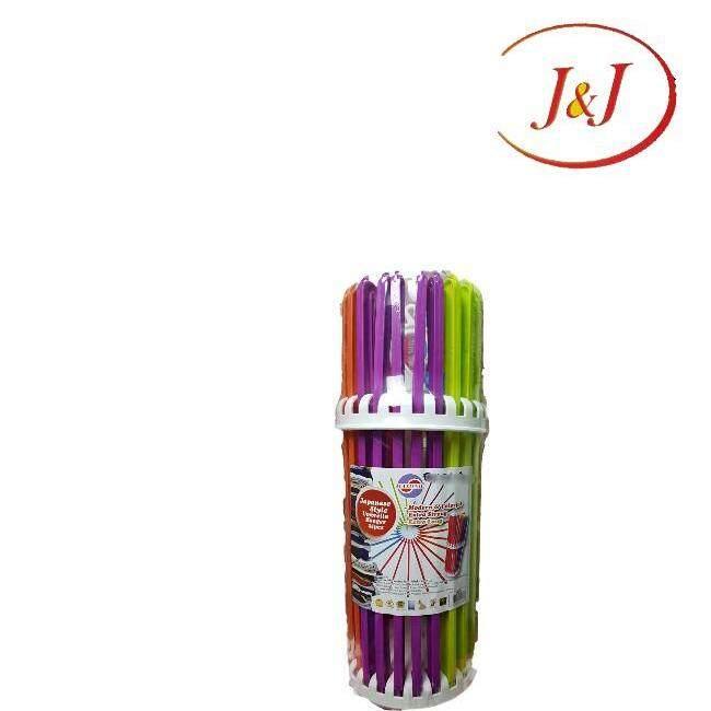 MAXONIC M8823 Colorful Umbrella Clothes Hanger, (XXL)