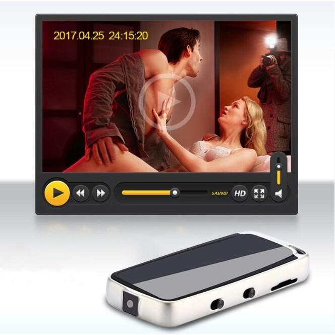 Gadgets - MINI DVR-480P Voice Video Recorder Hidden Camera Recording TF Card USB - Cool