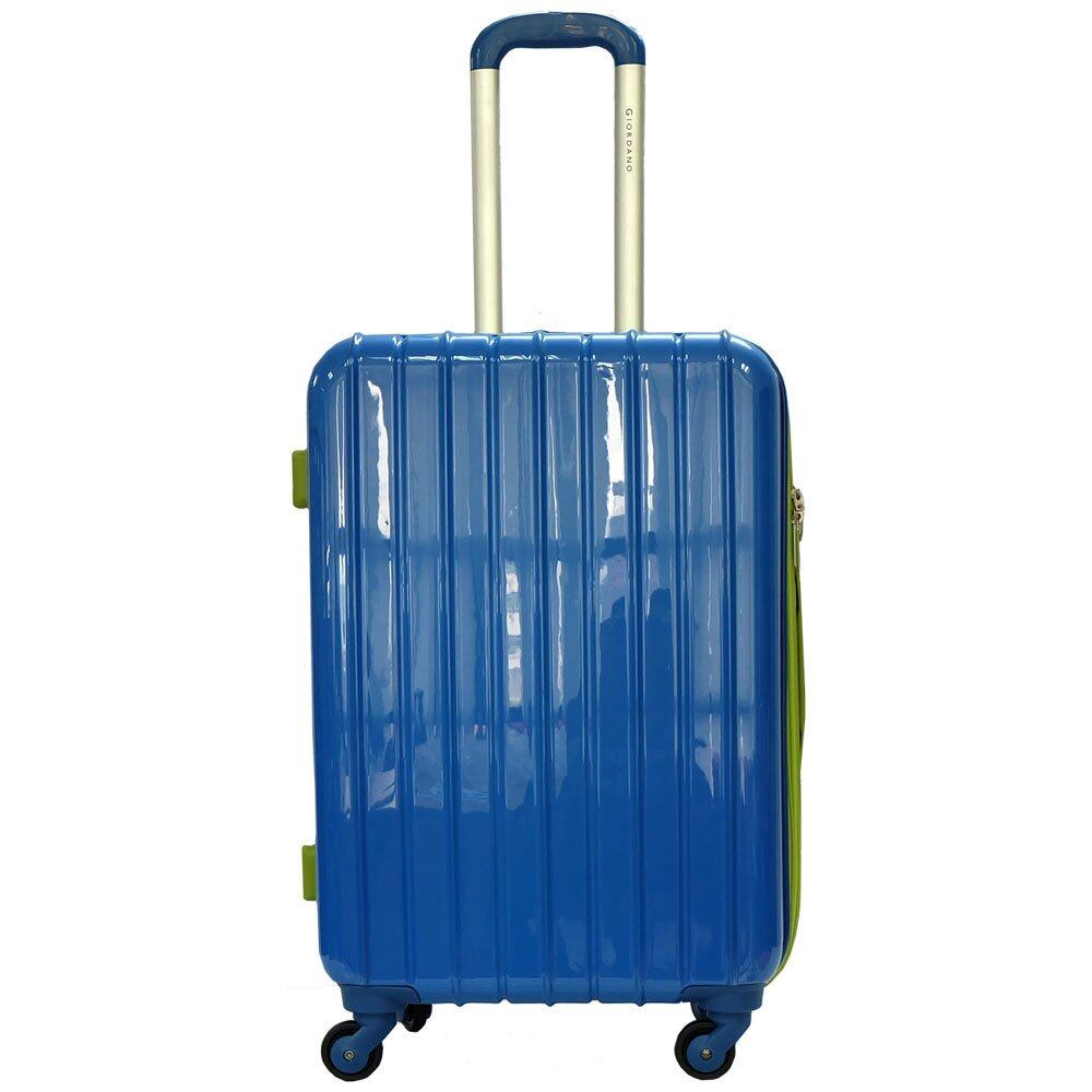 Giordano GAD1232 28 inches MULTICOLOR PC Hard Case w Expander- 4W Blue