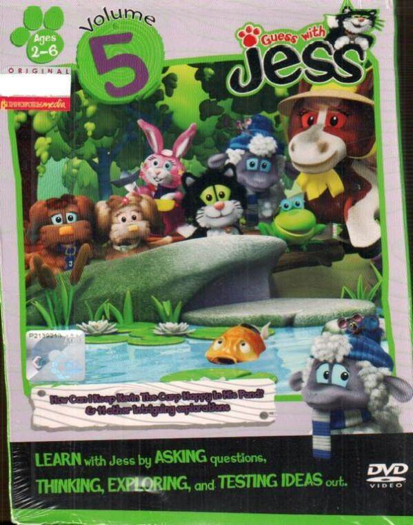 Guess With Jess Vol.5 DVD Asking Thinking Exploring Testing Ideas