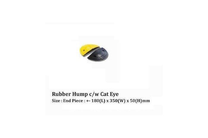 RUBBER HUMP C/W CAT EYE