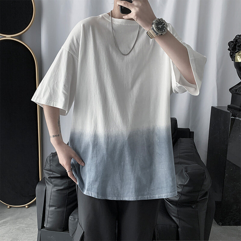 (PRE ORDER) MEN INS GRADIENT COLOR SHORT SLEEVE T-SHIRT