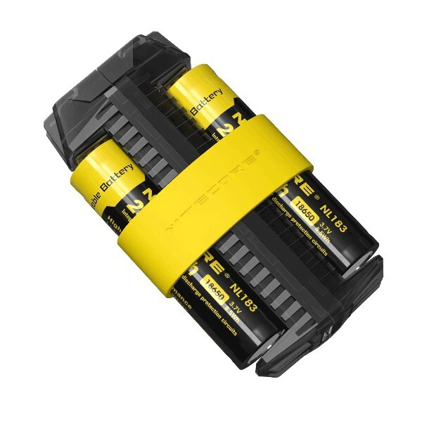 Chargers - Nitecore F2 Dual Slots Power Bank Outdoor Li-ion/IMR Charger - Cables