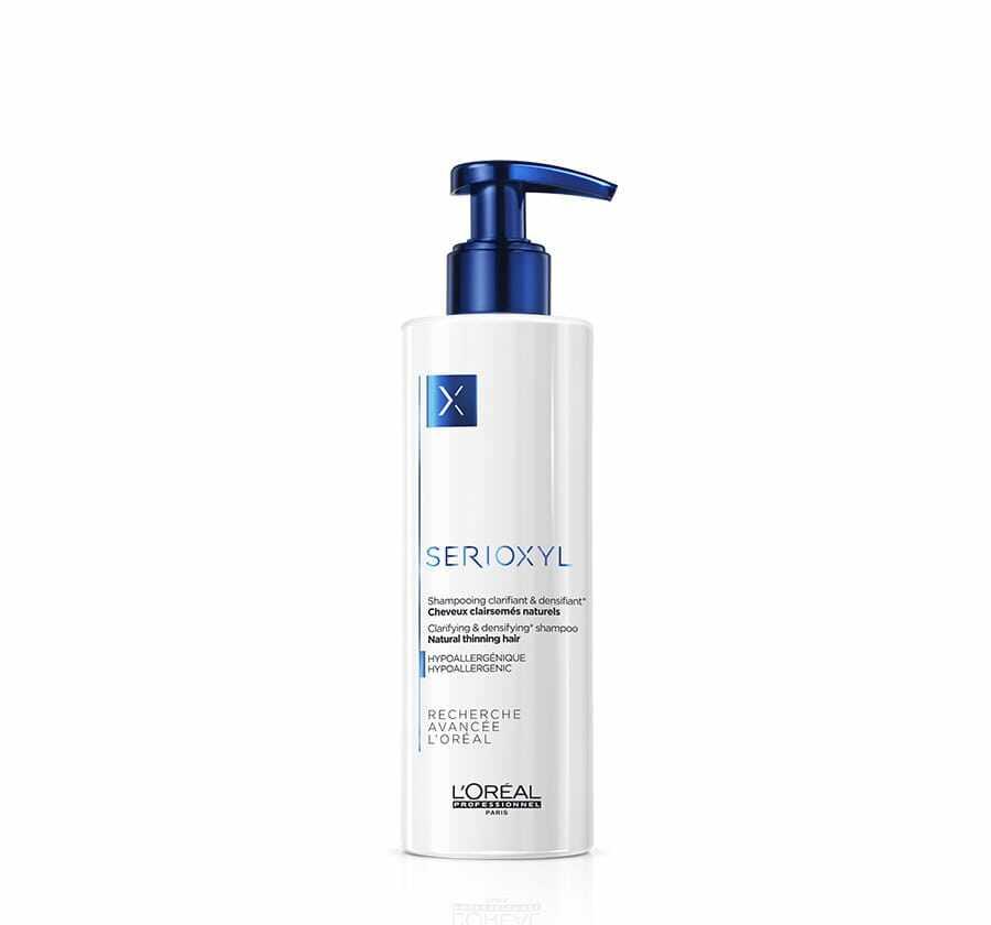 LOREAL Serioxyl Clarifying Shampoo(250ml) - ANTI Hair Loss (Natural Hair Color)