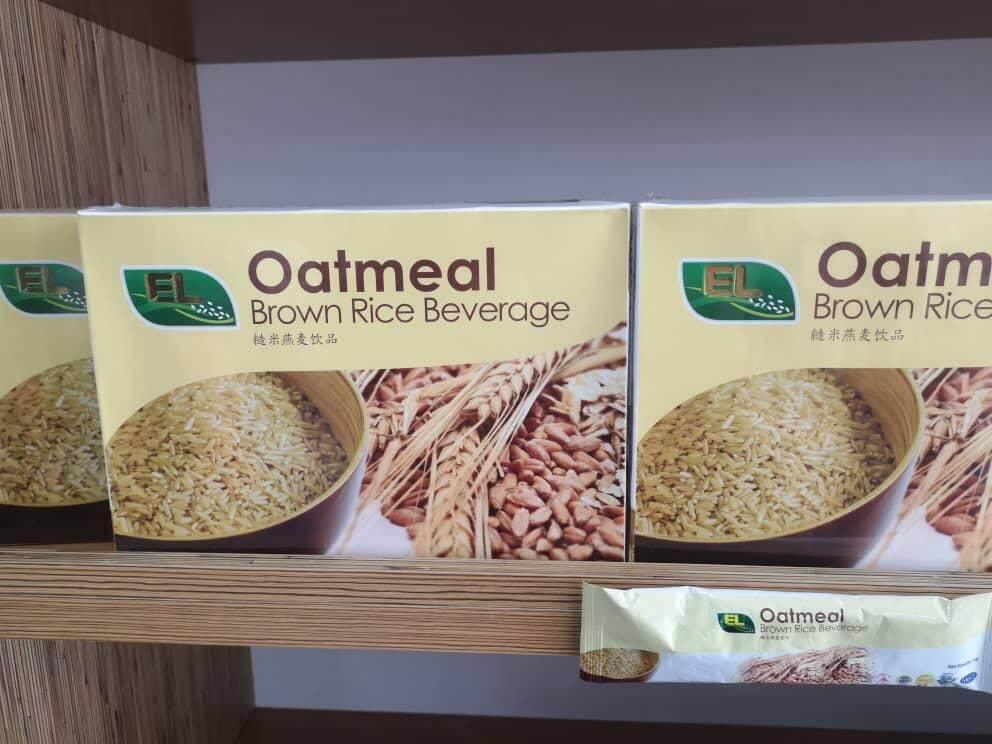 EL Brown Rice Oatmeal Beverage Instant 530 g( 25gms x 18 pack )