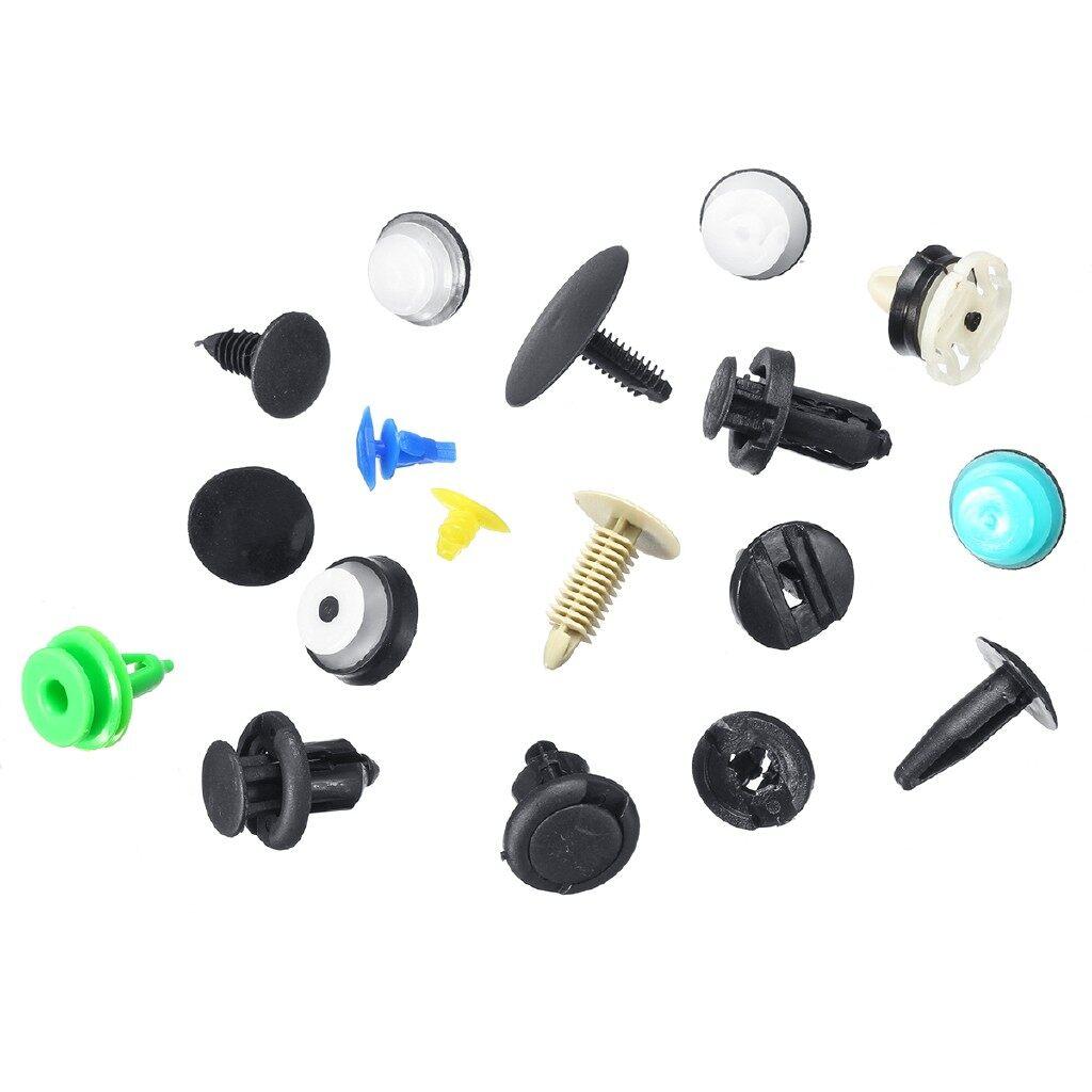Car Accessories - 18 Kinds 500 PIECE(s) Car Clips Ceiling Cover Panel Buckle Moulding Trim Clip Fastener kit - Automotive