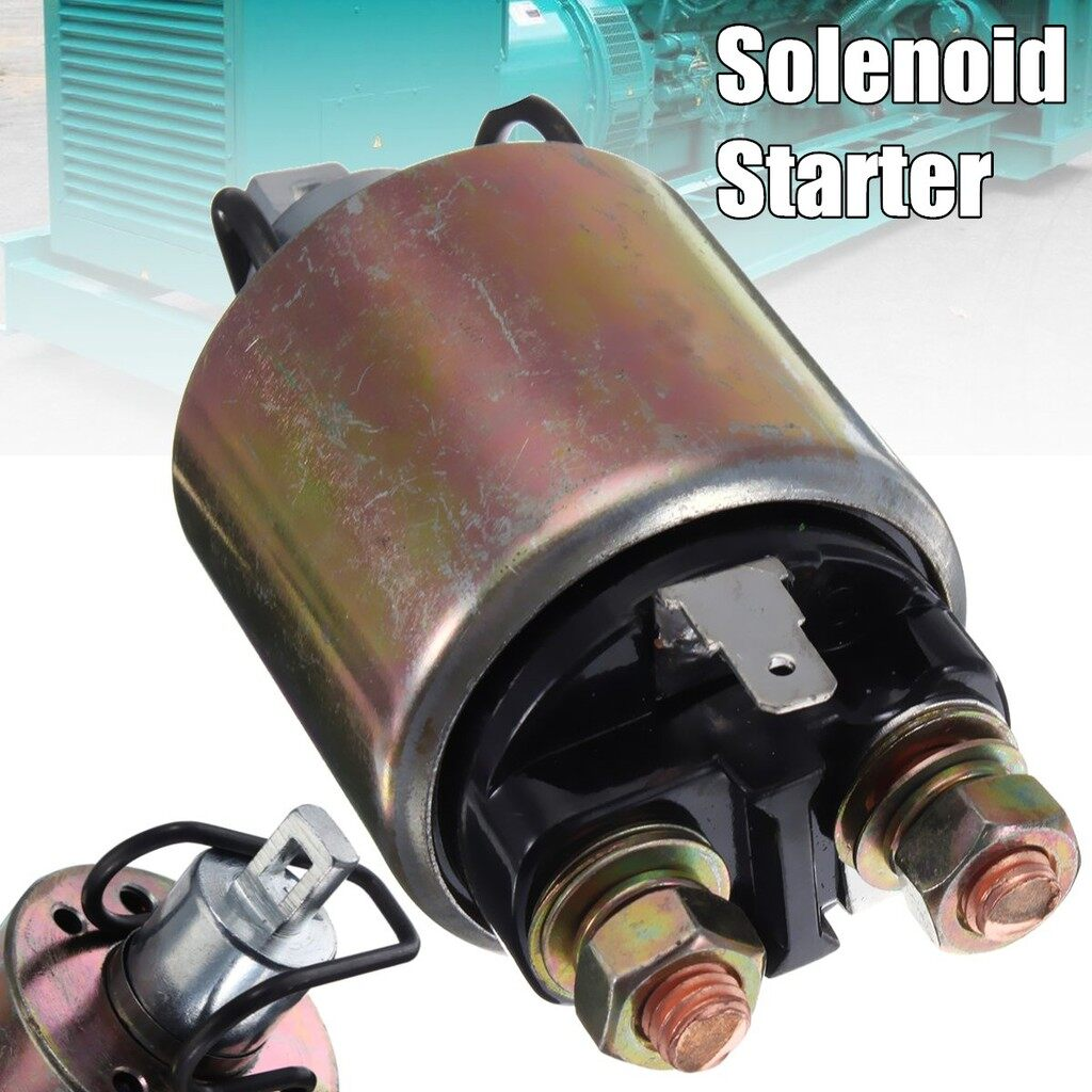 Car Accessories - Solenoid Starter Relay Replacement For Kipor KaKM186F 12V Diesel Generator - Automotive