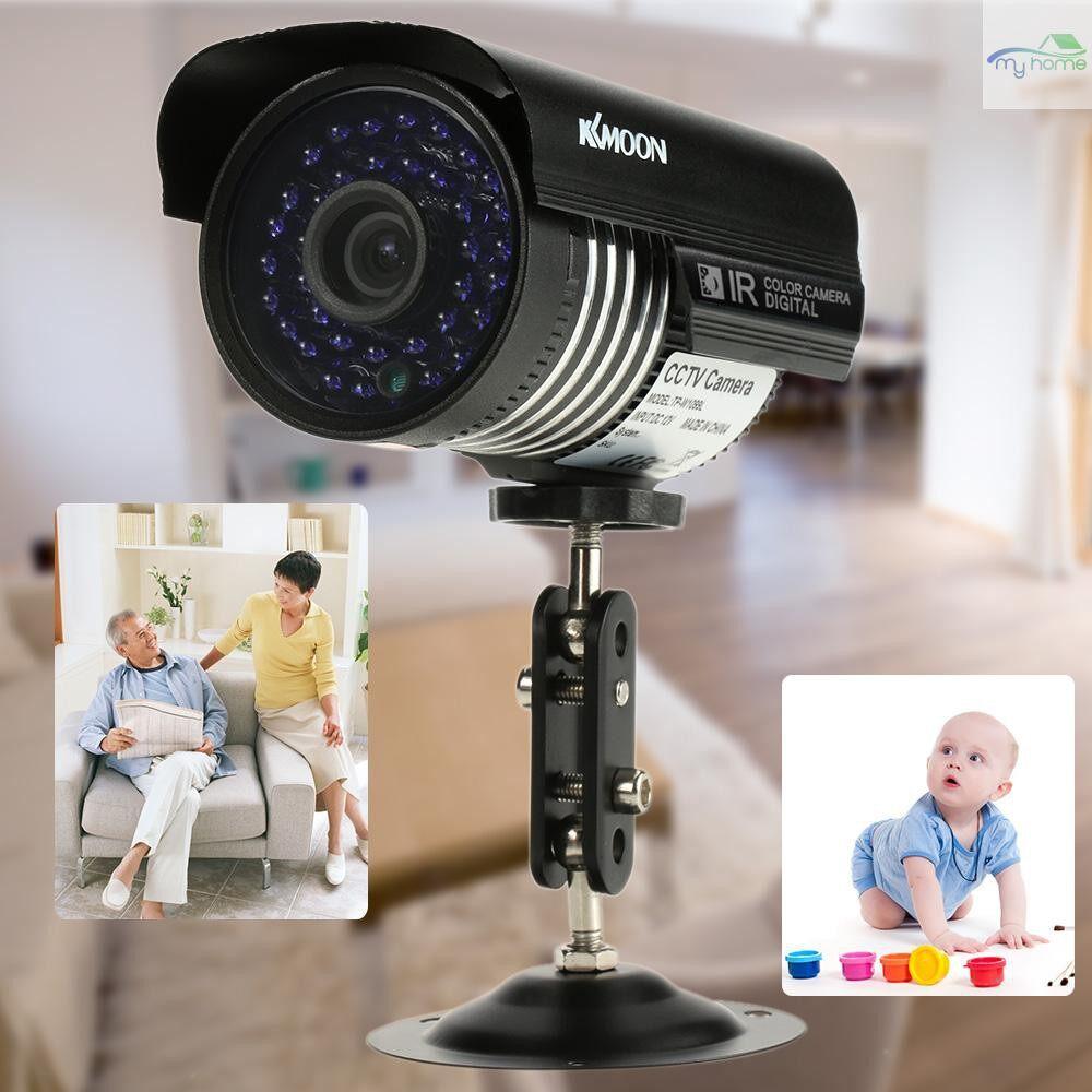 CCTV Security Cameras - 1200TVL Surveillance Security Outdoor Analog CCTV Camera IR-CUT Night View Waterproof - Systems