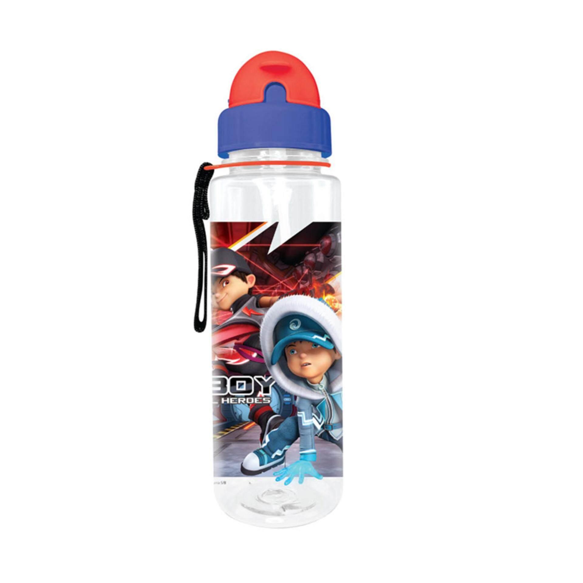 BoBoiBoy Movie 2 650ML BPA Free Tritan Bottle With Straw - Multicolour