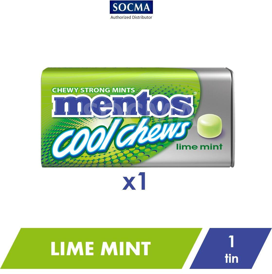 Mentos Cool Chews Tin Lime Mint 38g [1]