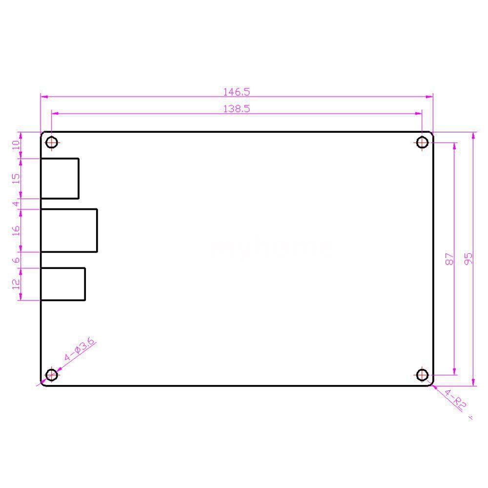 Printers & Projectors - 3D Printer Platform Smooth Control Board Open Source MKS SBASE V1.3 Ethernet Preinstalled - #