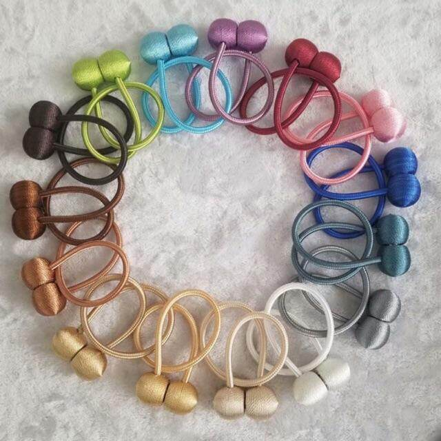 1pc Ball Magnetic Curtain Tieback Curtain Accessories Home Decor Ready Stock