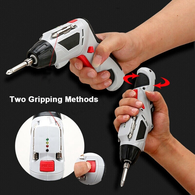 4.8V Electric Screwdriver SET Multi-function Battery Rechargeable Hand Drill Electric Screwdriver