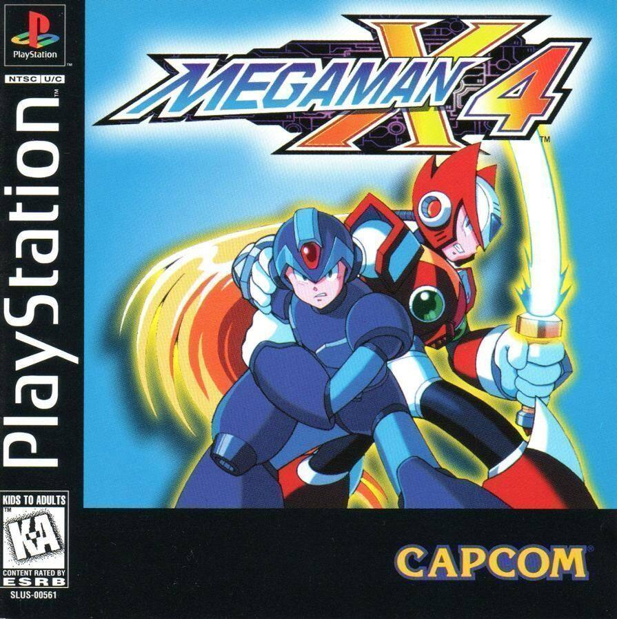 PS1 Mega Man X4