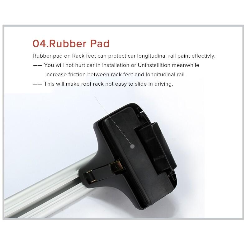Automotive Tools & Equipment - Car Roof Rack Cross Bar anti-thief for Honda KIA Nissan VW /Buick/Toyota - Car Replacement Parts