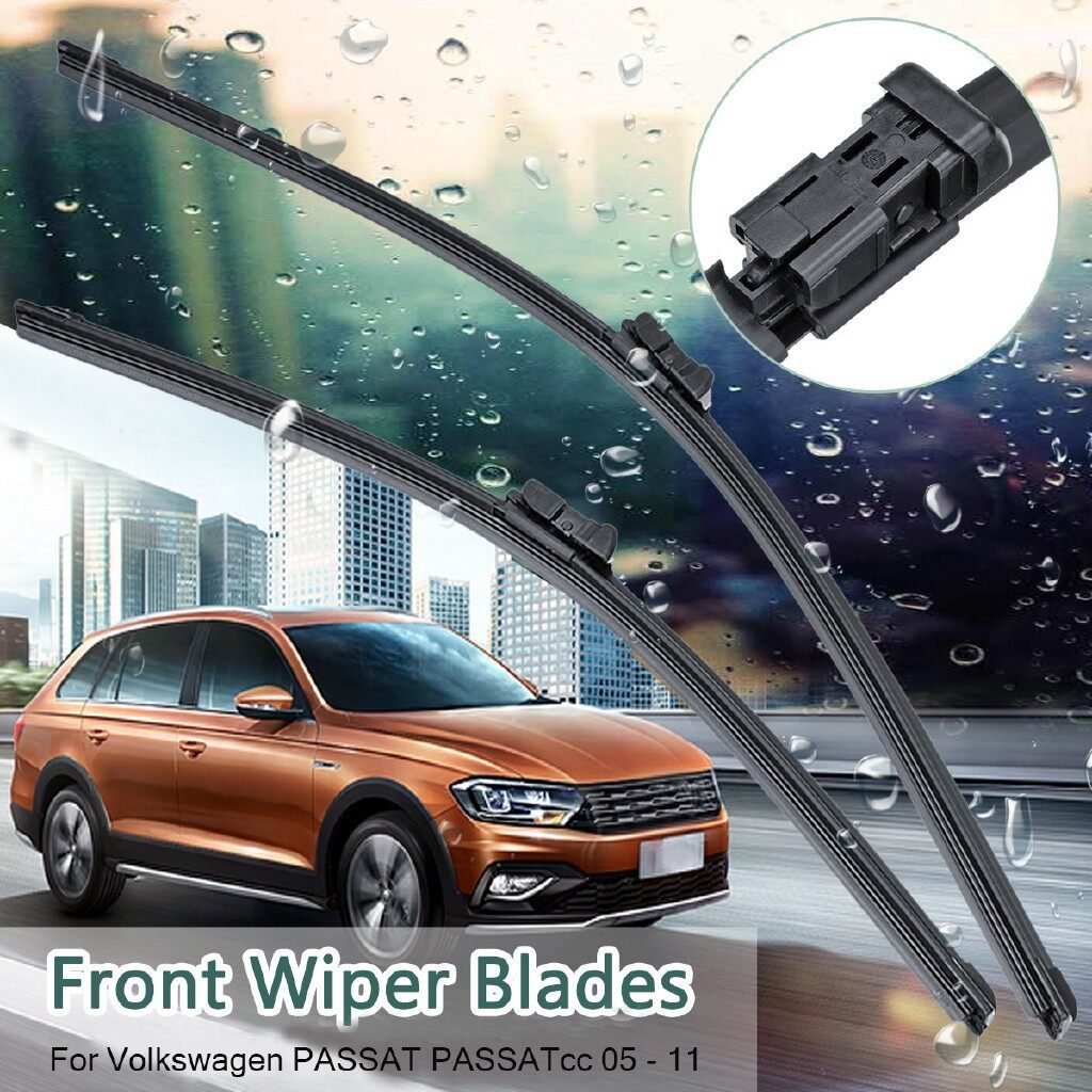 Windscreen Wipers & Windows - Front Windscreen Wiper Blades Fit VW PASSAT PASSATcc 200511 - Car Replacement Parts