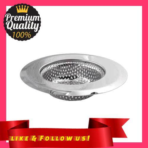 People\'s Choice Kitchen Sink Strainer Stainless Steel Drain Filter Strainer Large Wide Rim Basket Drain Strainer Food Catcher for the Kitchen Sink (S)