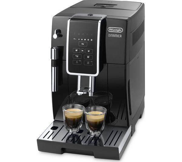 DeLonghi Dinamica Fully Automatic Coffee Machine - ECAM350.15.B