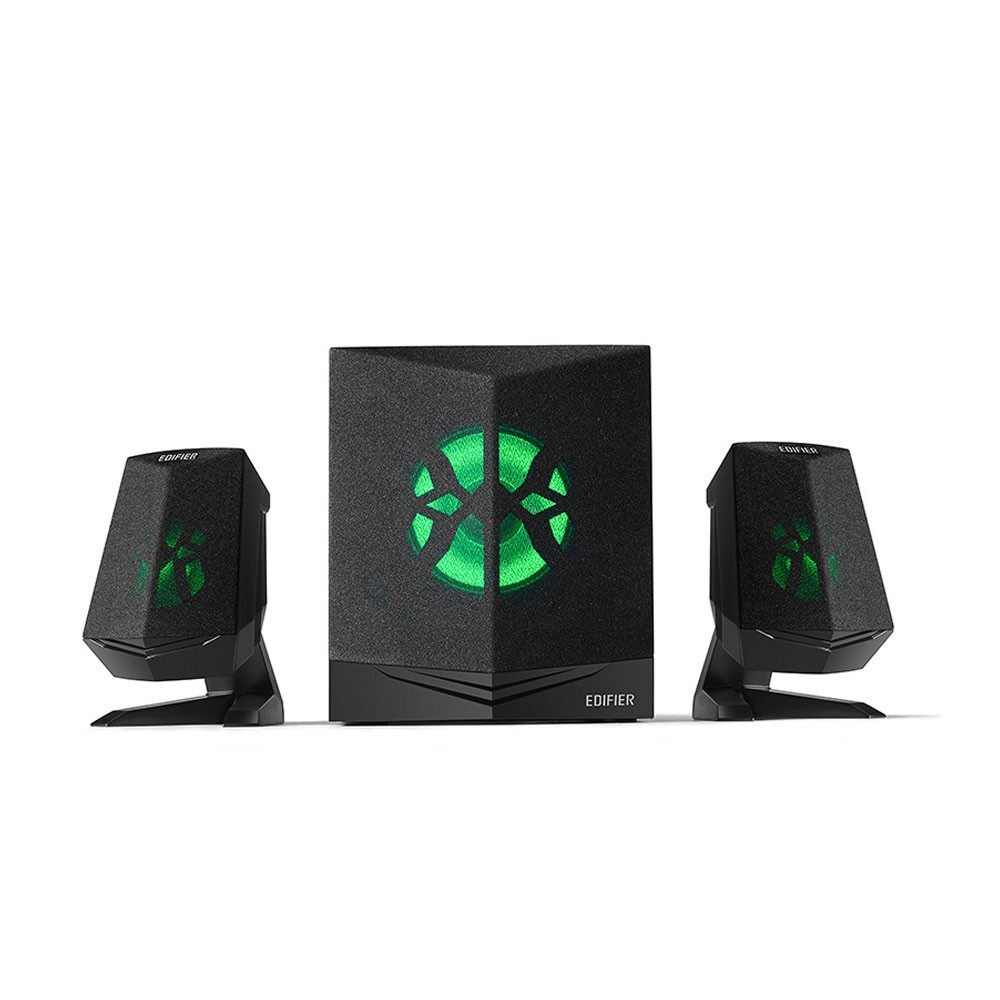 Edifier X230 Bluetooth 2.1 Multimedia Gaming Speaker 5 Woofer with RGB LED Lighting, AUX, DSP