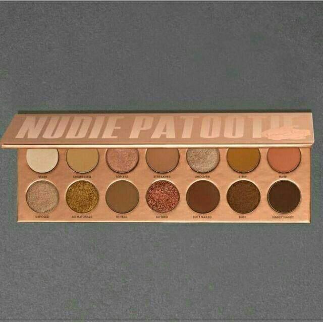 FREE GIFTLaura Lee Los Angeles Eyeshadow Palette Nudie Patootie