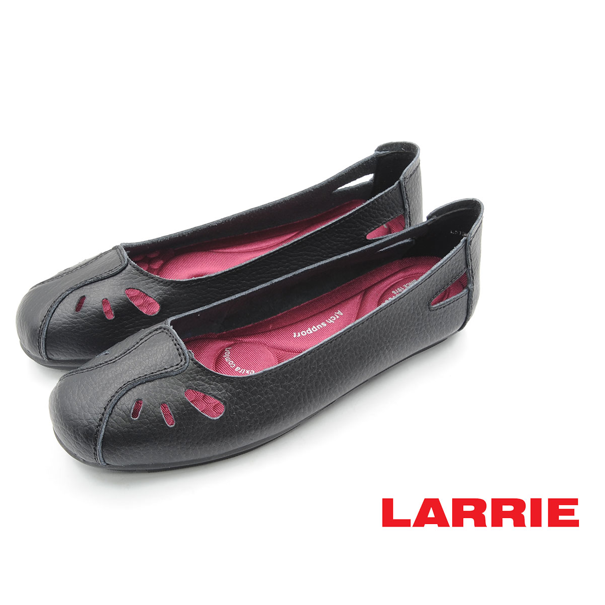 LARRIE Kasut Perempuan Practical Casual Basic Flat Shoes Women - L51904-YX01SV