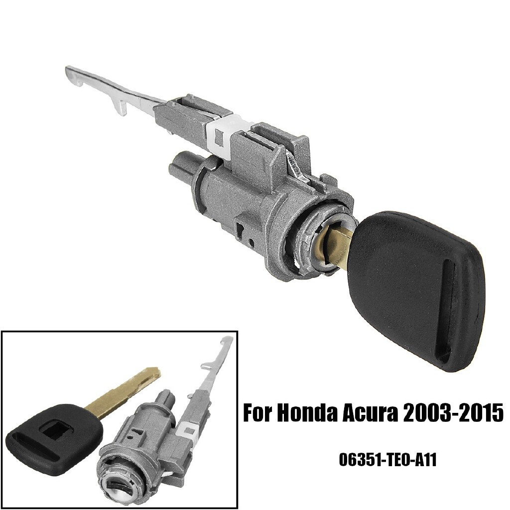 Engine Parts - Ignition Cylinder Lock Switch Key For Honda Acura CR-V Element MDX RDX 2003-2015 - Car Replacement