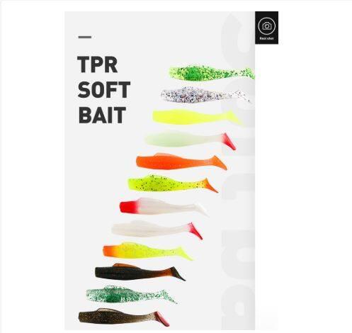 High Quality Soft Fishing lure Floating Soft bait lure Japan shape lure
