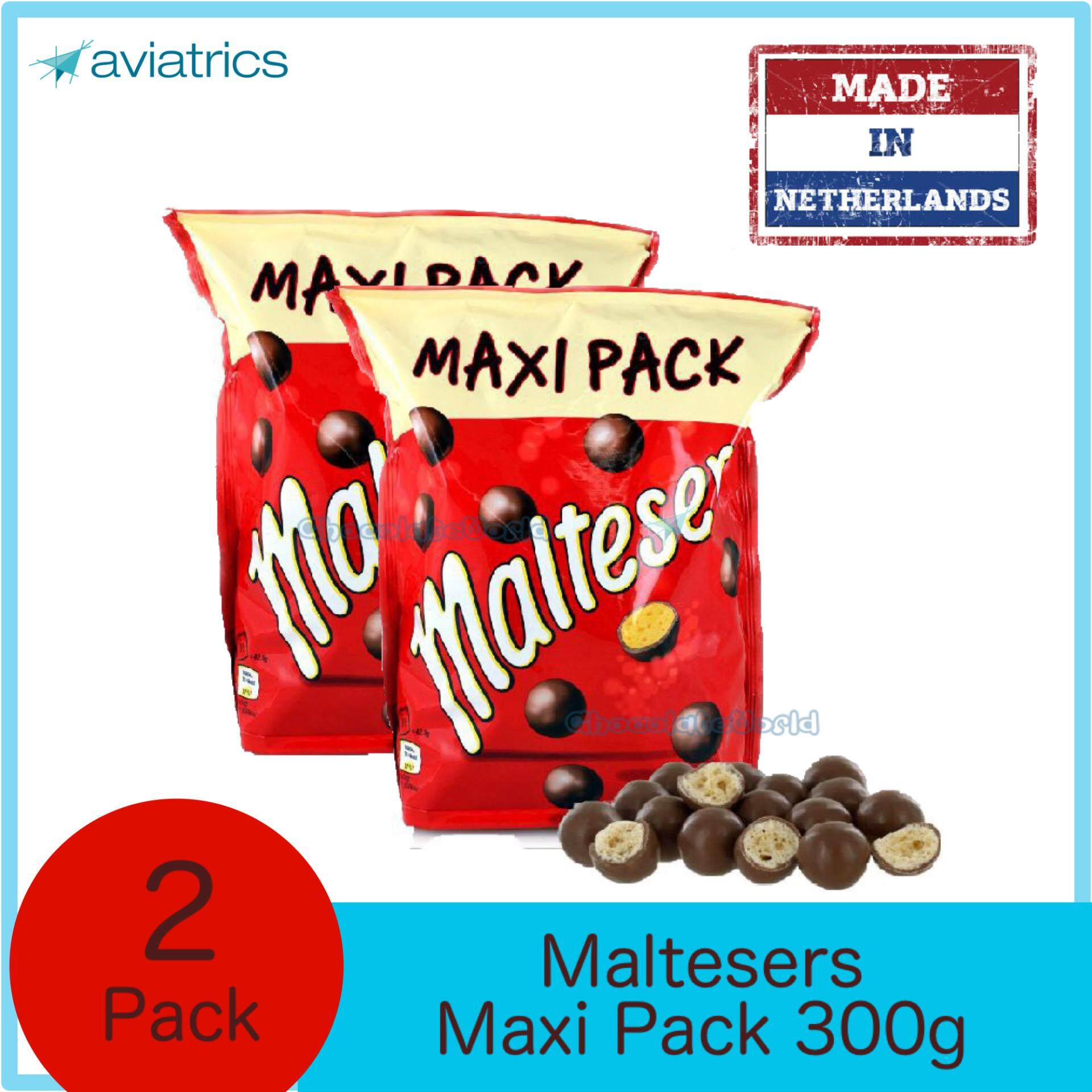 Maltesers MAXI PACK 2 X 300g (Made in Netherlands)