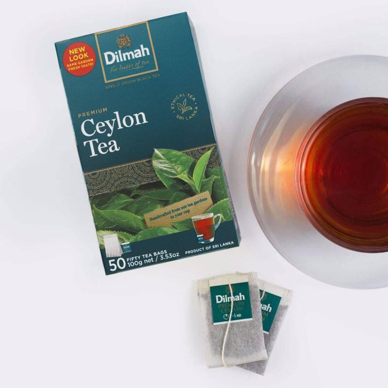 Dilmah Ceylon Tea (50s) Coffee or Tea