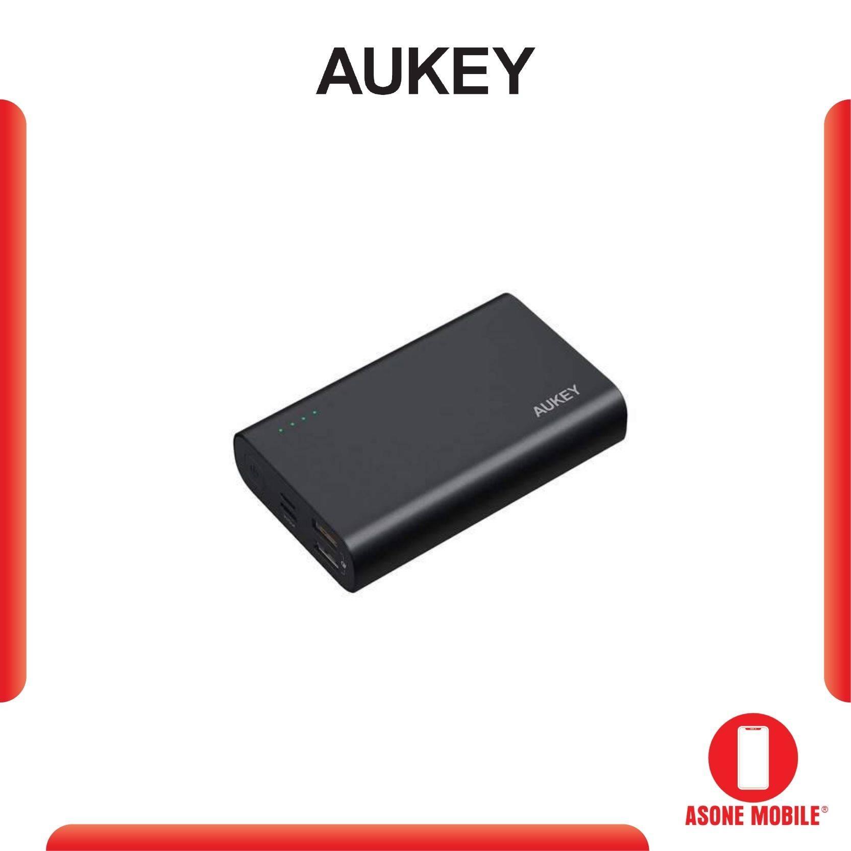 Original Aukey PB-XD12 USB C QC3.0 Power Delivery Power Bank (10000mAh) 2 year warranty