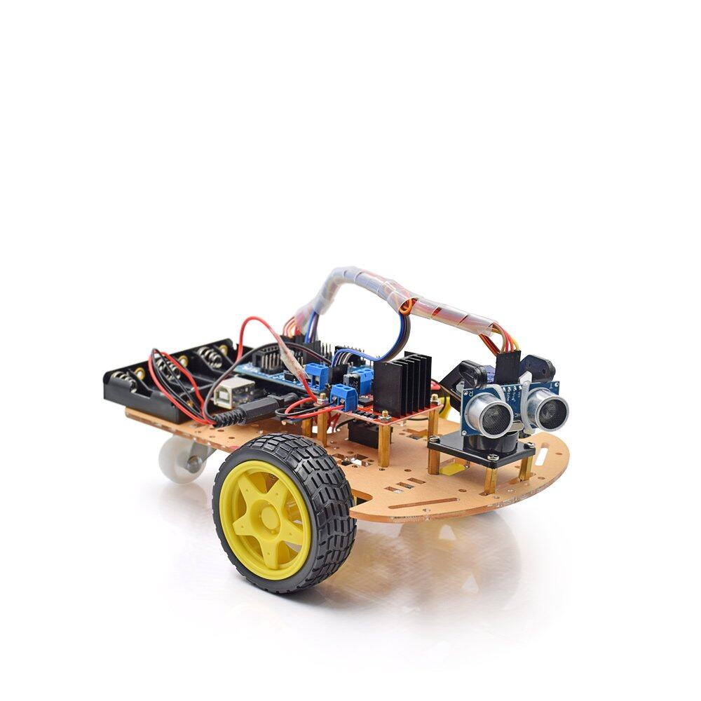 Arduino Uno R3 2WD Avoidance Tracking Smart Robot Car Chassis Kit Set [ElectricA]