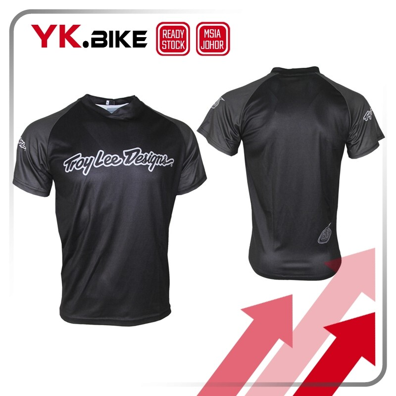 YKBIKE [LOCAL READY STOCK] Bicycle MTB Jersey Short Sleeve Breathable Quick Dry Downhill Jersey Cycling Race Clothing APL3002