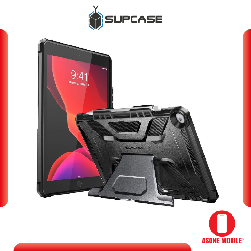 Original SUPCASE iPad 10.2 inch Unicorn Beetle Multi-Angle Case - Black