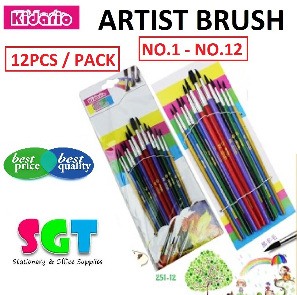 Kidario Artist Brushes 251-12
