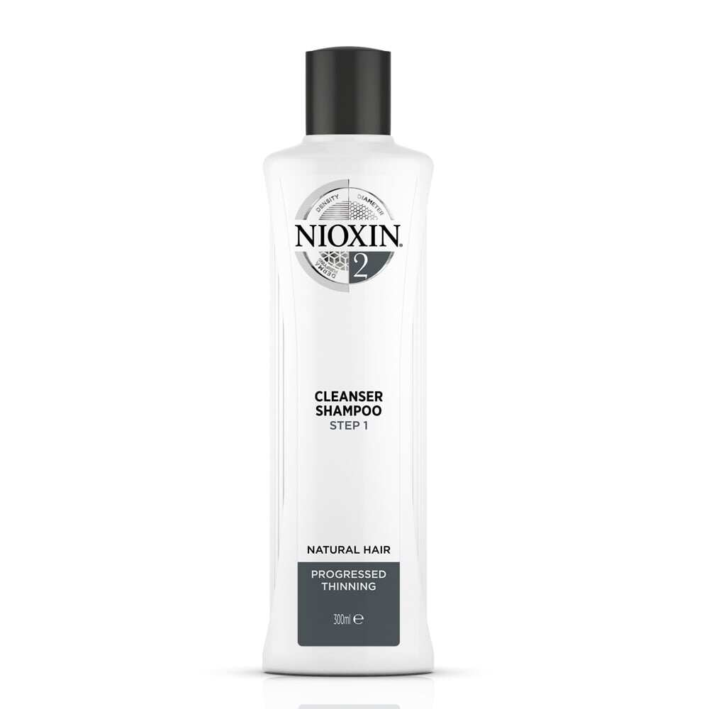 NIOXIN System 2 Duo Pack for Natural Hair Progressed Thinning 300ML