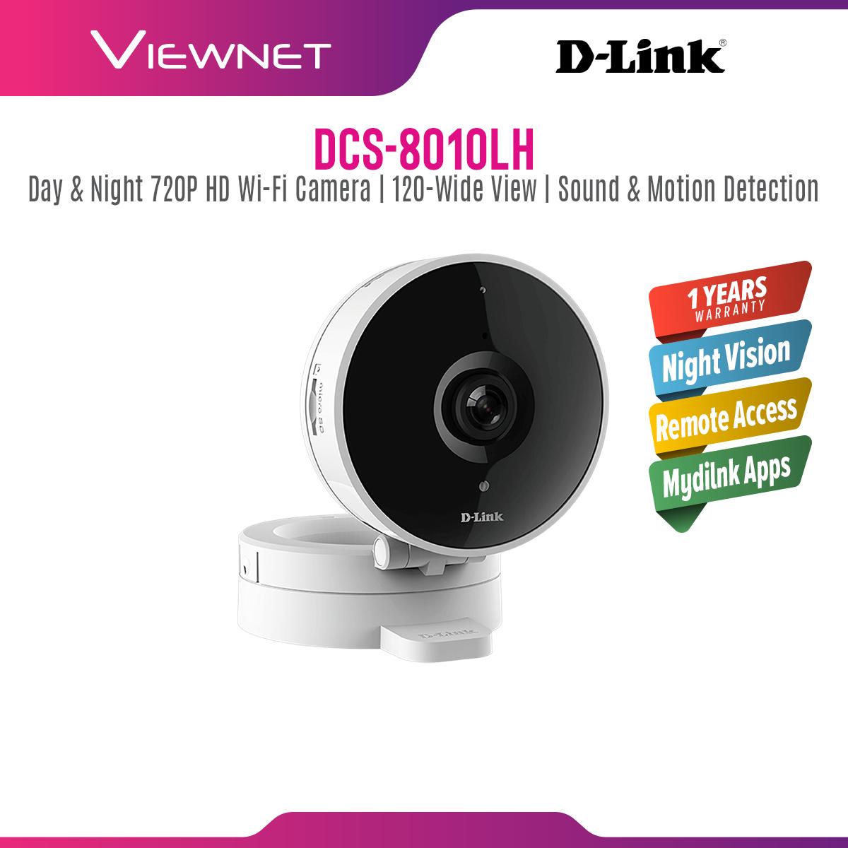 D-Link DCS-8010LH HD Wi-Fi Smart Home Cloud Camera