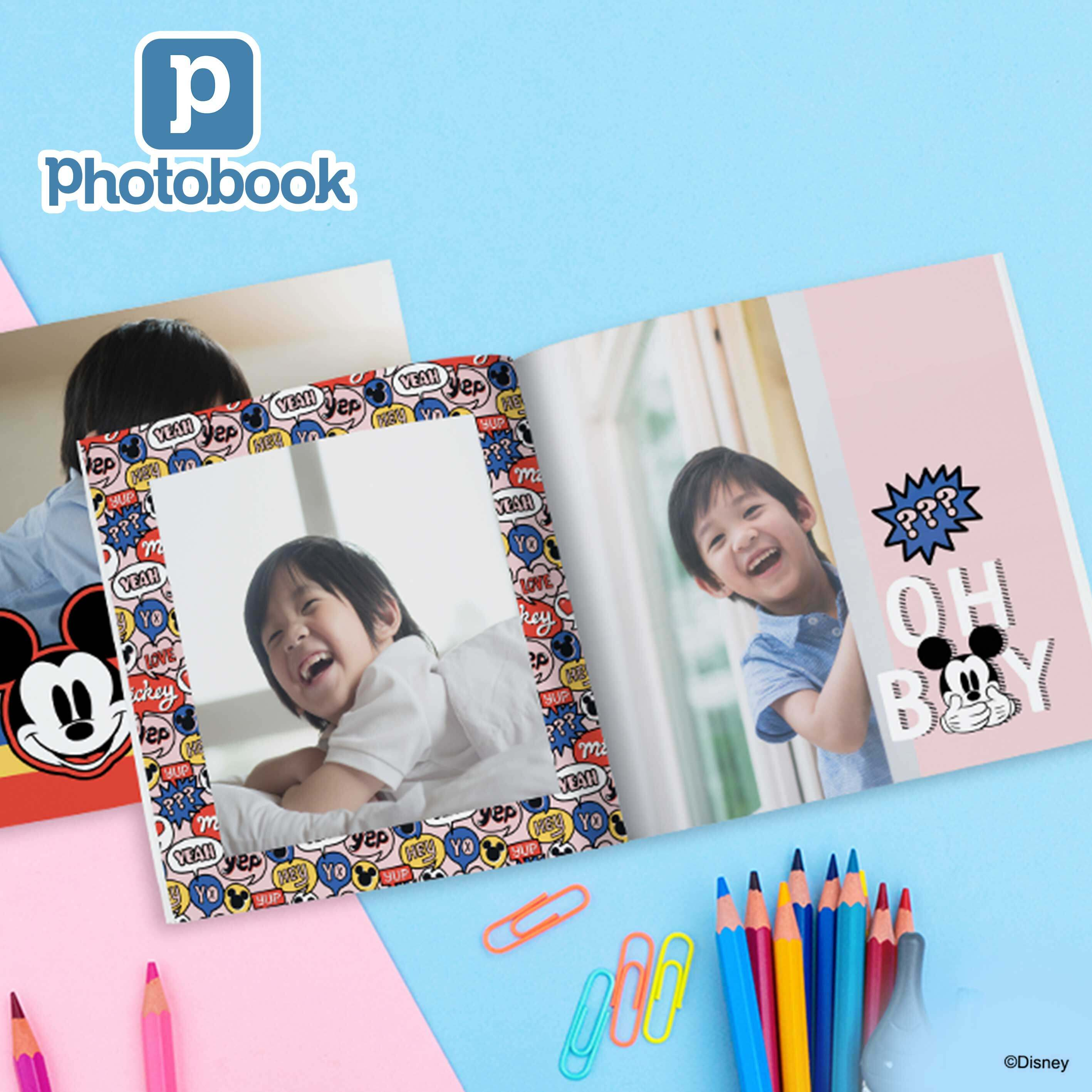 [e-Voucher] Photobook Malaysia 8 x 8 Small Square Softcover Photo Book, 40 Pages