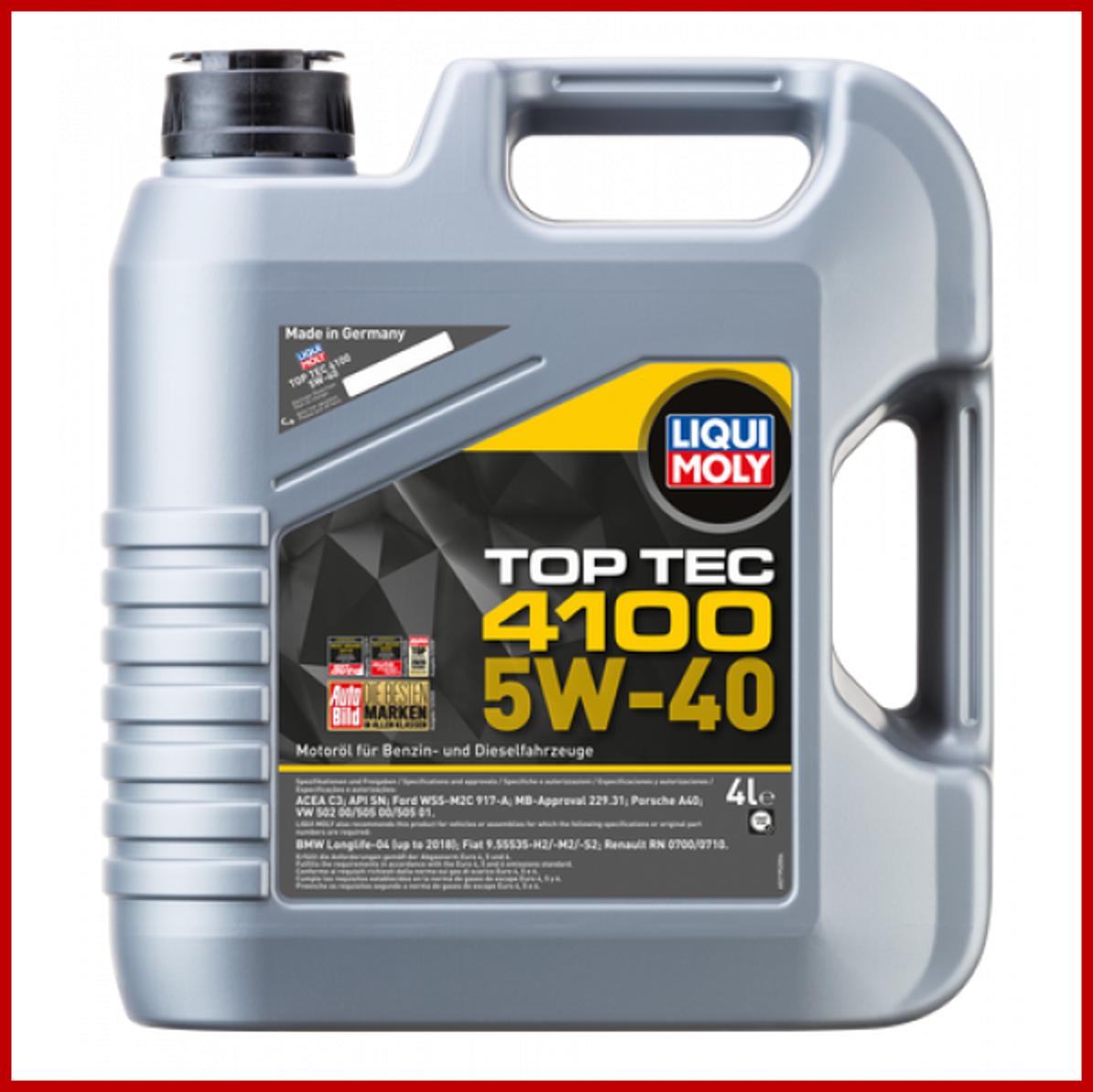LIQUI MOLY Top Tec 4100 5W40 (4L)