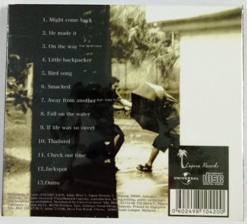 Prana Greenhouse Effect CD Malaysia Alternative Rock Reggae Music