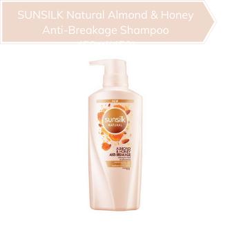 SUNSILK Natural Almond & Honey Anti-Breakage Shampoo 450ml