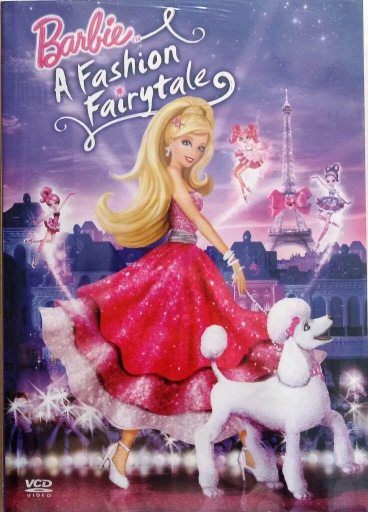 Barbie A Fashion Fairytale Movie VCD