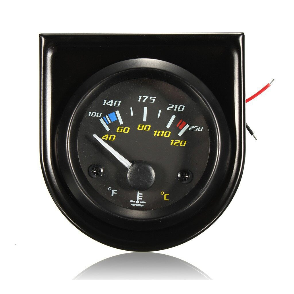 Tyres & Wheels - 2 Water Temperature Gauge 100250F, 40120C by Propower - Car Replacement Parts