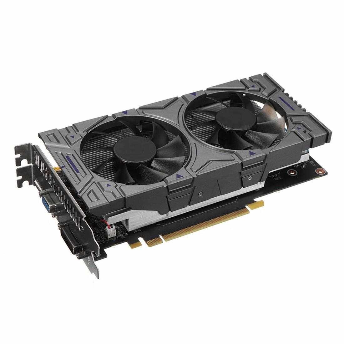 Best Selling GTX1050Ti Gaming Video Graphics Card 4G DDR5 128 Bit HDMI & VGA & DVI Port (Standard)