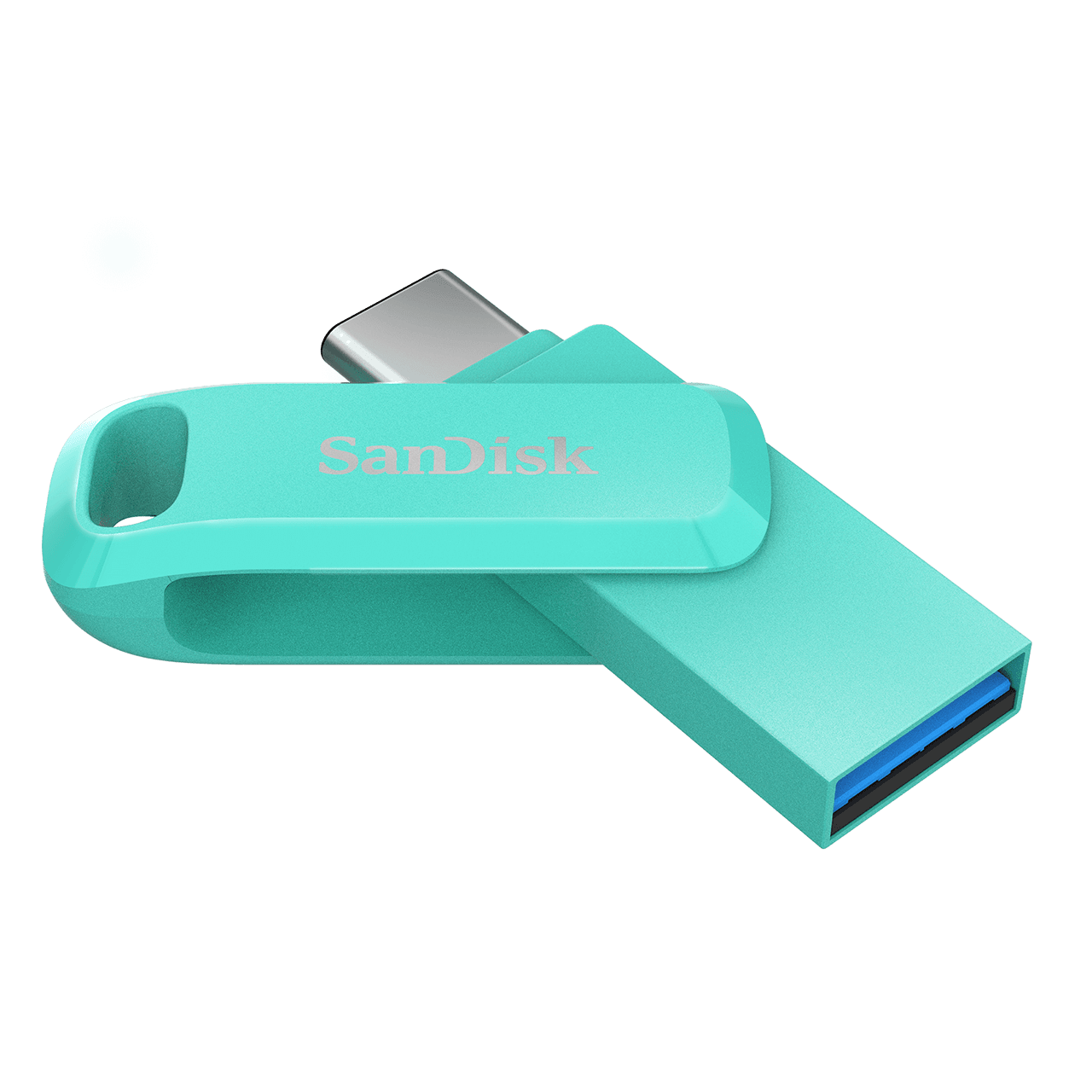 Sandisk OTG Ultra Dual Drive Go USB Type-C with 150MB/s Read, Plug and Play, Type-C Connection, USB 3.0, Swivel Design